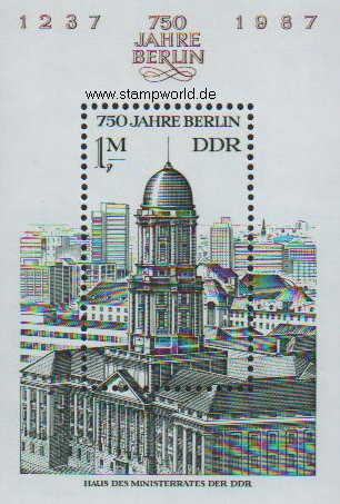 Briefmarken/Stamps Stadtansicht/Berlin