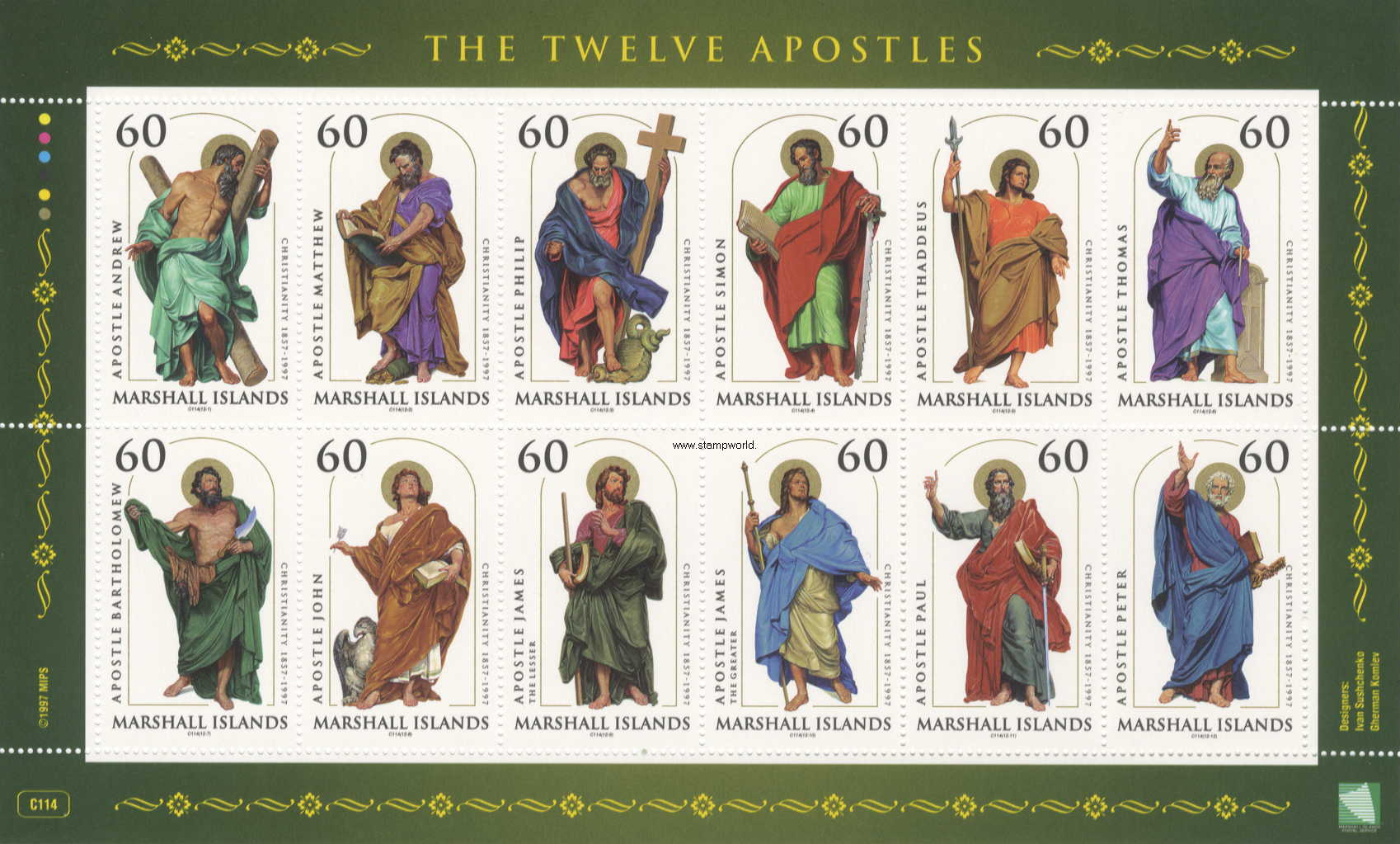 Die 12 Aposteln