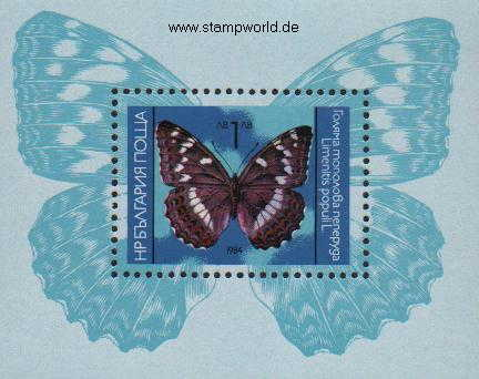 Briefmarken/Stamps Schmetterling (Limenitis)