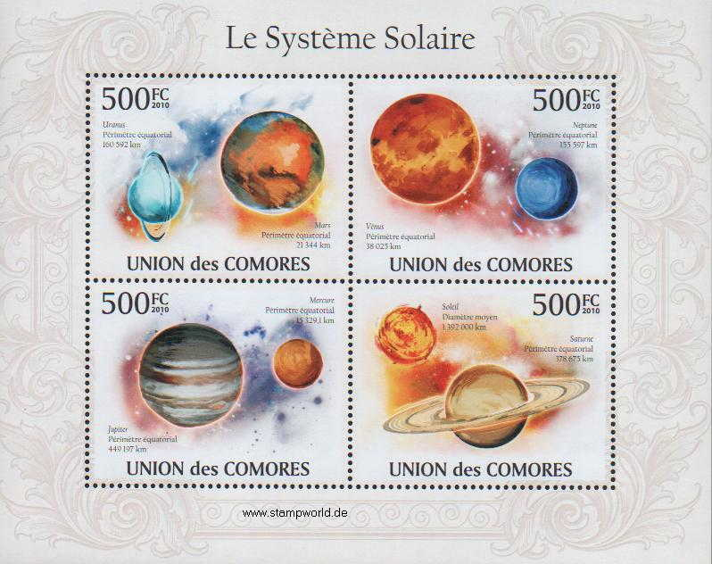 planets postage us postal service issues new solar system - 813×647
