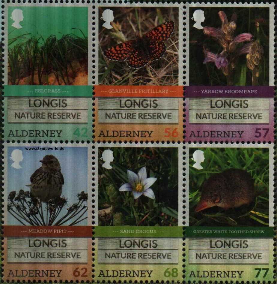 Longis-Naturpark/Vogel/Schmetterling/Maus/Pflanzen/Blumen - Alderney ...