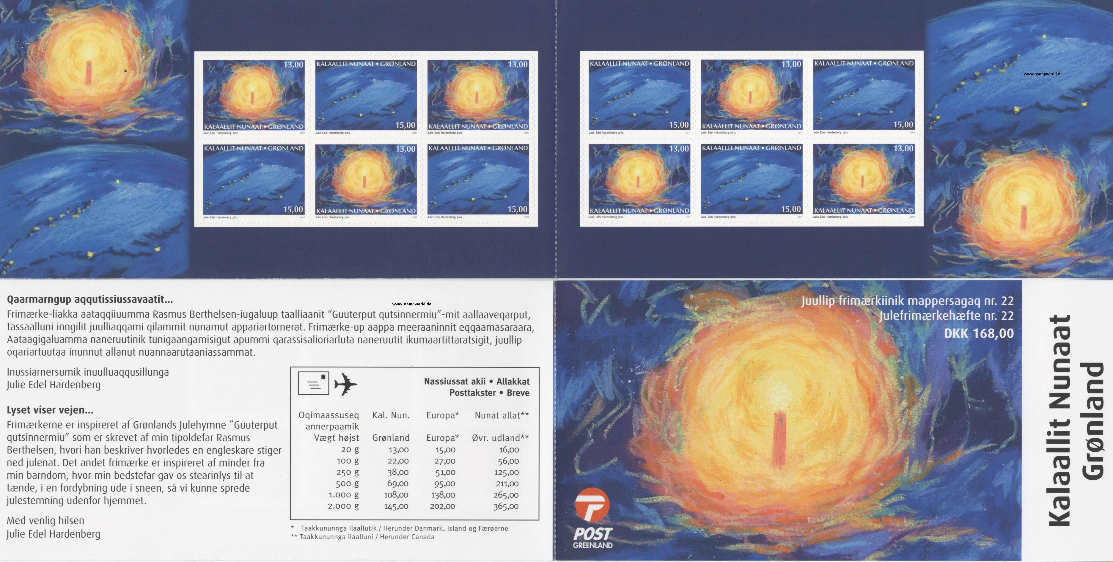 Grönland Mh Briefmarken Grönland 7