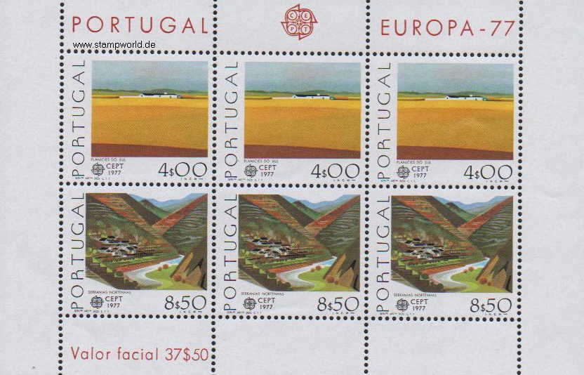 Briefmarken/Stamps Europa/Landschaften