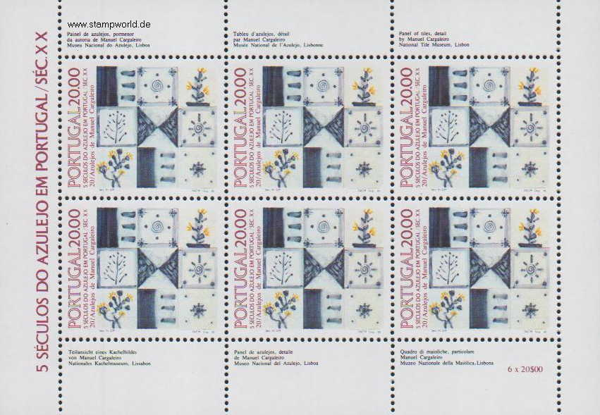 Briefmarken/Stamps Kacheln 20