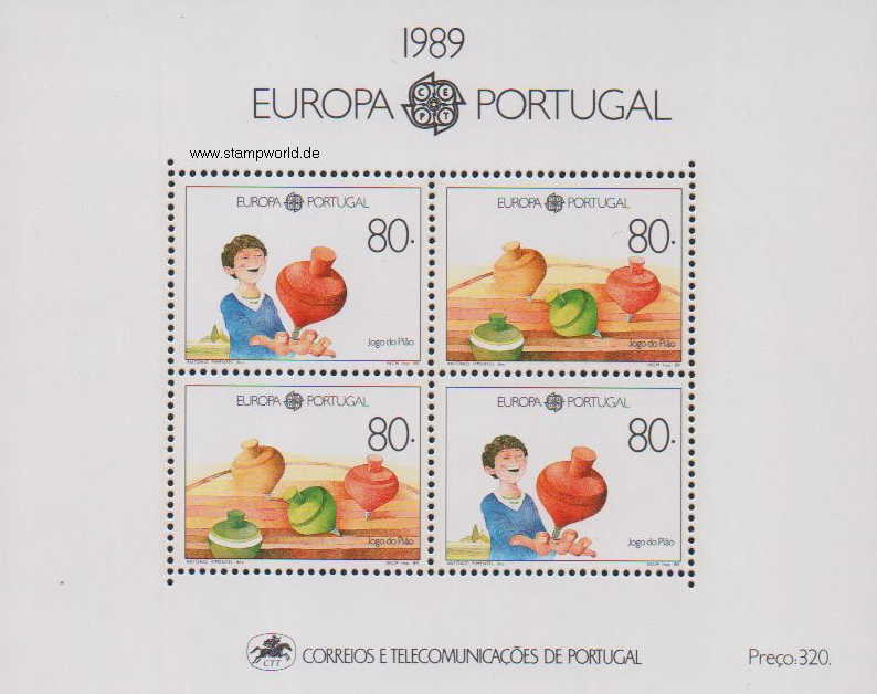 Briefmarken/Stamps Europa/Kinderspiele