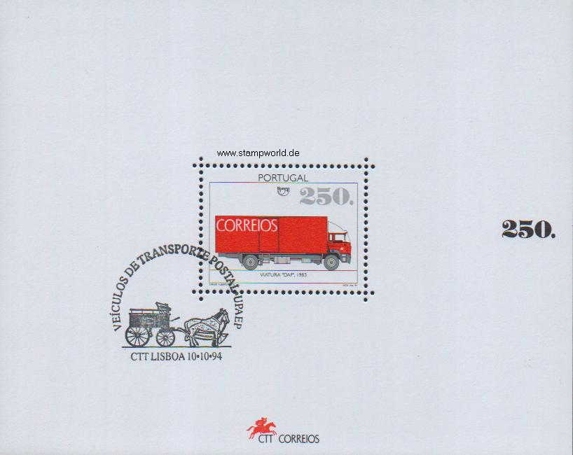 Briefmarken/Stamps Post-Lastwagen