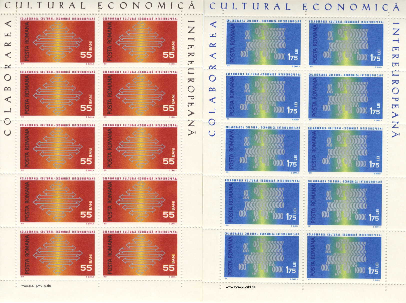 Briefmarken/Stamps Intereuropa
