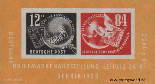 Briefmarken/Stamps DEBRIA/Briefmarken