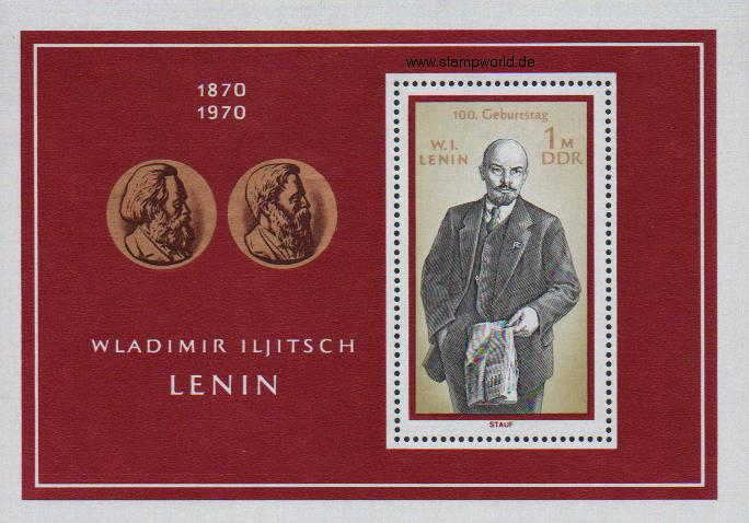 Briefmarken/Stamps Lenin